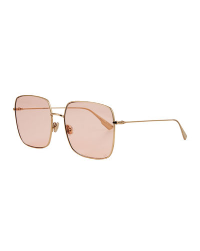 Diostellaire1 Square Metal Sunglasses