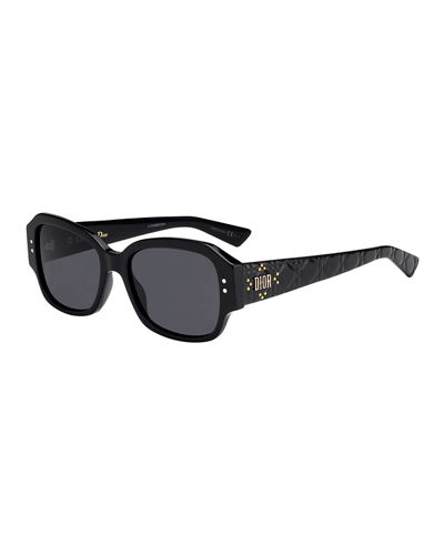 Lady Dior Studs Rectangle Sunglasses