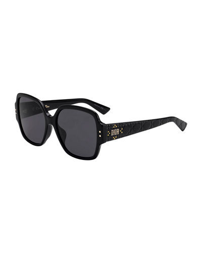 Dior Lady Dior Studs Square Sunglasses