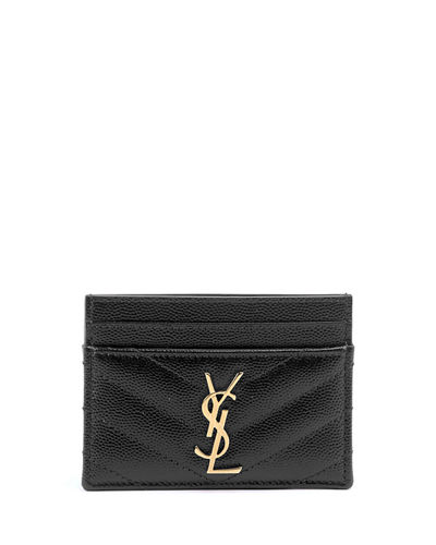 6f57bbc0 Leather Card Holder | Neiman Marcus