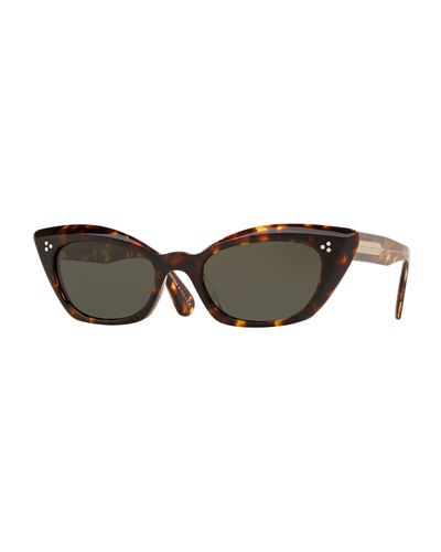 Bianka Acetate Cat-Eye Sunglasses