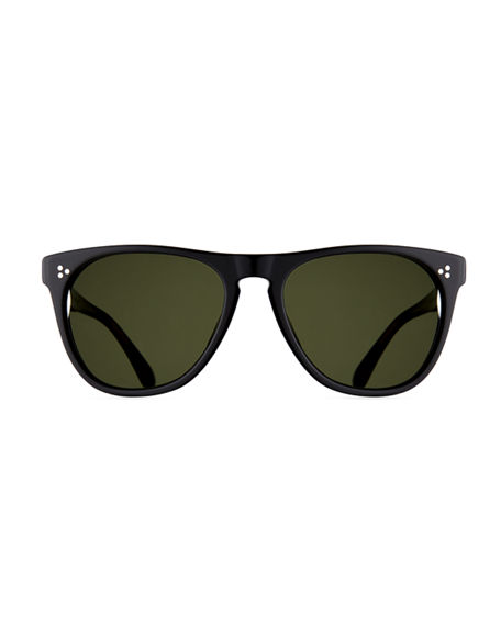 Image 2 of 3: Oliver Peoples Daddy B Square Acetate Sunglasses