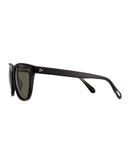 Image 3 of 3: Oliver Peoples Daddy B Square Acetate Sunglasses