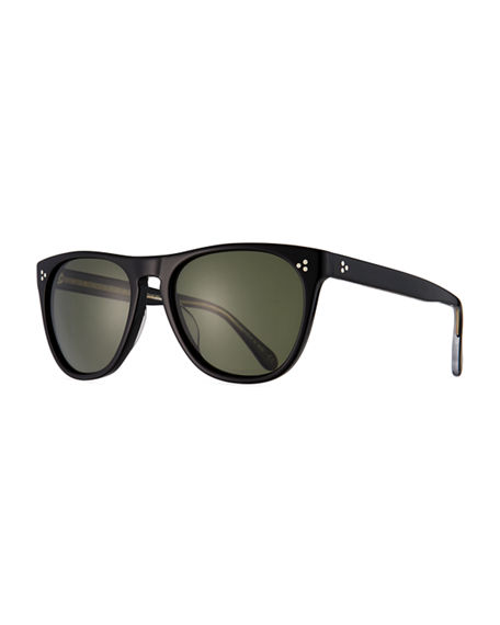 Image 1 of 3: Oliver Peoples Daddy B Square Acetate Sunglasses