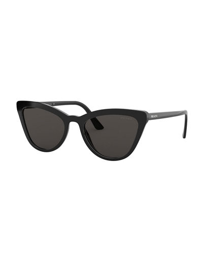 c4097d318a3cd Quick Look. Prada · Acetate Cat-Eye Sunglasses. Available in Black ...