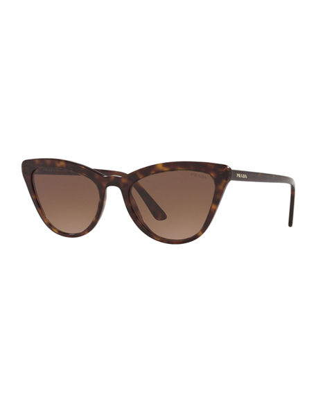 Prada Acetate Cat-Eye Sunglasses