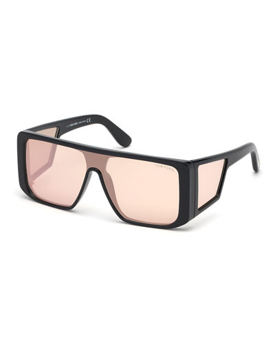 Atticus Mirrored Shield Sunglasses