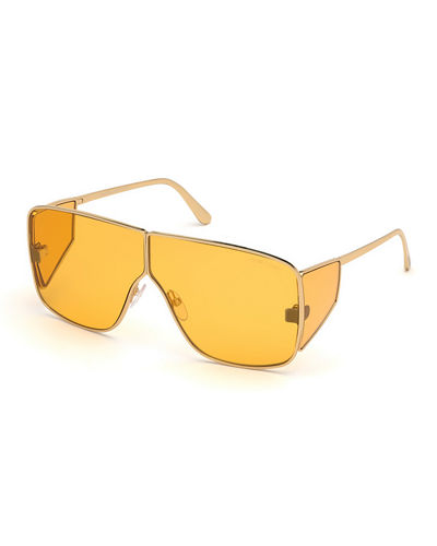 3c9ea4f3406 Quick Look. TOM FORD · Spector Metal Shield Sunglasses