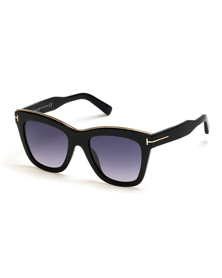 TOM FORD Julia Gradient Acetate Sunglasses