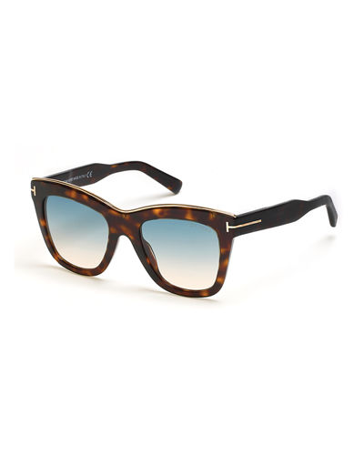 Julia Gradient Acetate Sunglasses