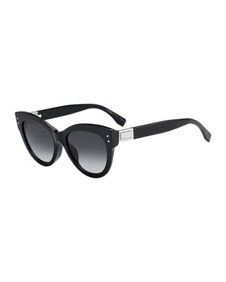 Gradient Acetate Sunglasses by Fendi