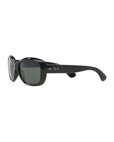 Ray-Ban Gradient Nylon Rectangle Sunglasses