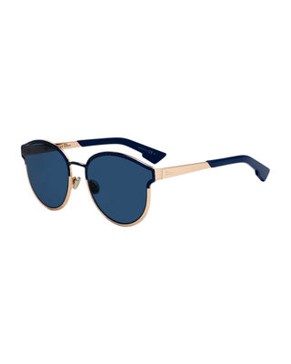 Dior Symmetrics Round Metal Sunglasses by Dior