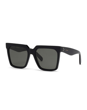 a1abfad09899 Celine Square Polarized Acetate Sunglasses