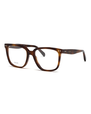 11886419488d Celine Square Slim Acetate Optical Frames. Favorite. Quick Look