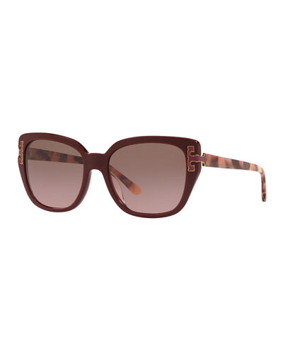 Gradient Cat-Eye Sunglasses
