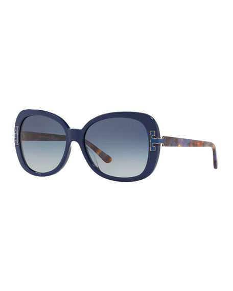 Tory Burch Gradient Butterfly Sunglasses