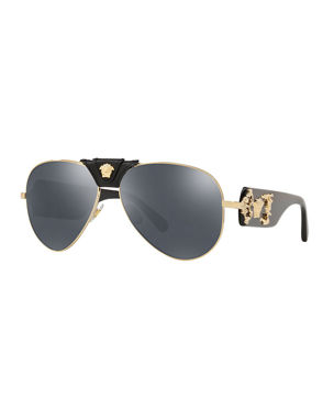 2bef61fdf481 Designer Aviator Sunglasses at Neiman Marcus