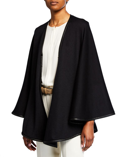 Loro Piana Summer Jersey Circle Cape