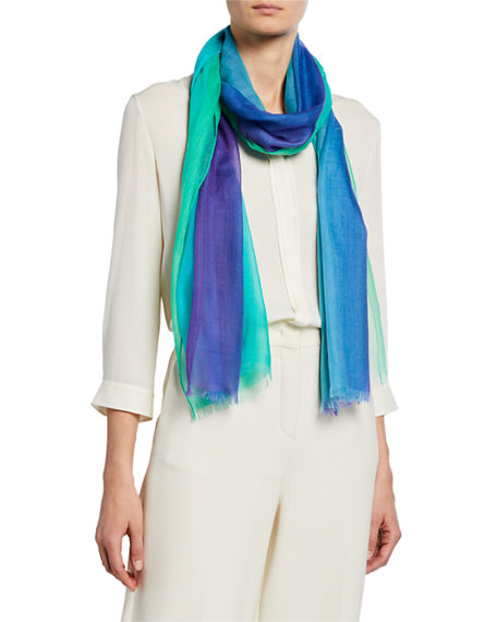 Loro Piana Accessories OMBRE RAINBOW CASHMERE STOLE
