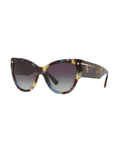Chunky Cat-Eye Acetate Sunglasses