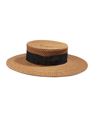311e2a1b6535b8 Quick Look. Eric Javits · Gondolier Woven Boater Hat