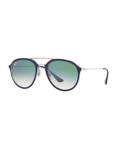 Framed Aviator Sunglasses