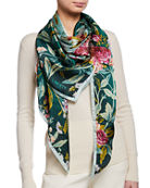Liberty London Desert Rose Silk Scarf