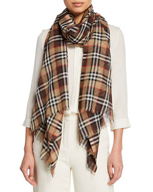 3feeb2645430 Burberry Scarves for Men   Women at Neiman Marcus