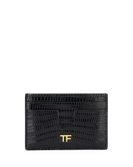 TOM FORD Tejus Lizard Card Case