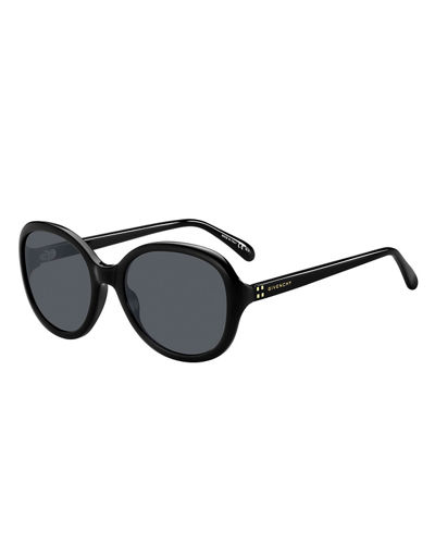 Givenchy Round Gradient Acetate Sunglasses