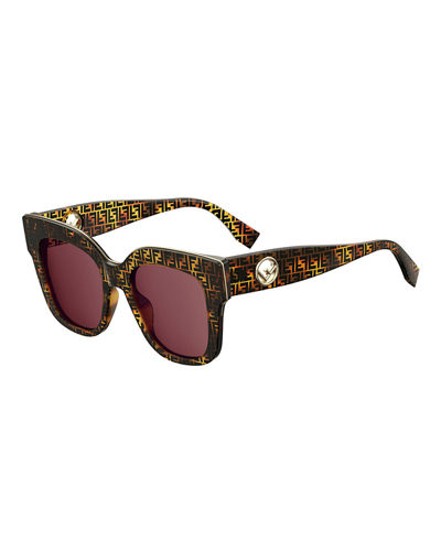 1375c58356e3f Quick Look. Fendi · Square Acetate Sunglasses ...