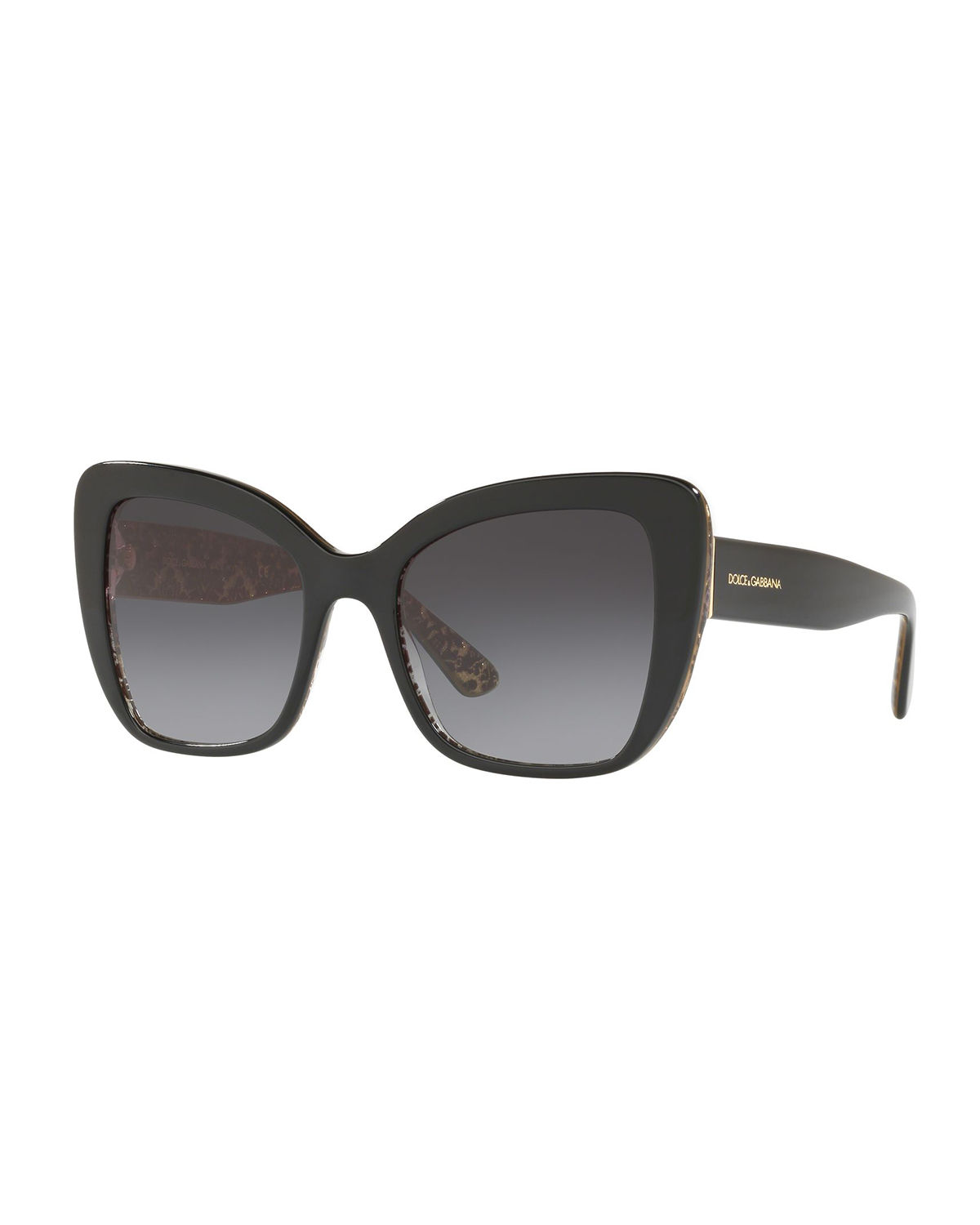 1f52134fbc Dolce   Gabbana Acetate Butterfly Sunglasses