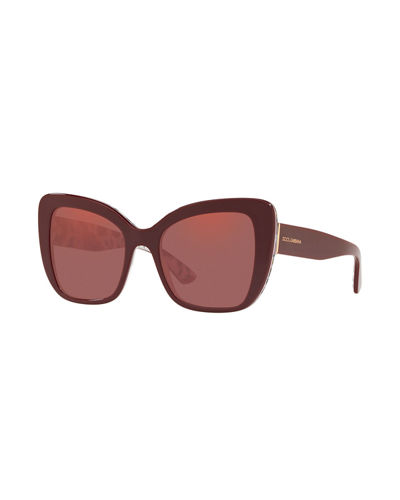 d3c9424aa6a4 Quick Look. Dolce & Gabbana · Acetate Butterfly Sunglasses