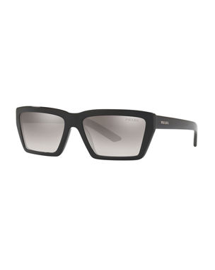 940e0c44f6 Prada Sunglasses   Square   Cat-Eye Sunglasses at Neiman Marcus