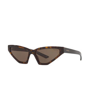 4f6a83b0a0fe Prada Sunglasses   Square   Cat-Eye Sunglasses at Neiman Marcus