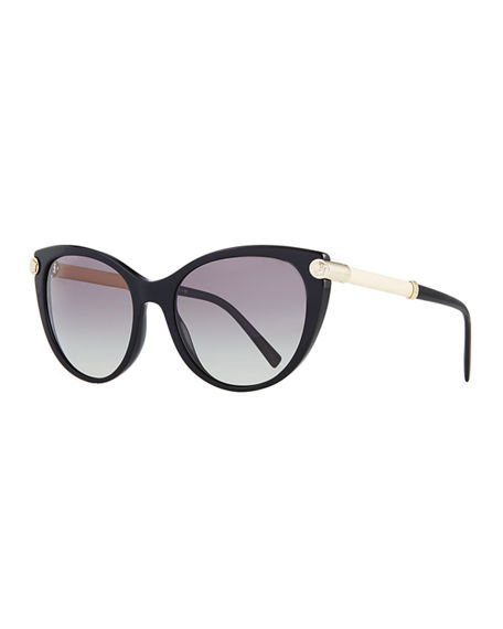 Image 1 of 3: Versace Cat-Eye Medusa Head Sunglasses