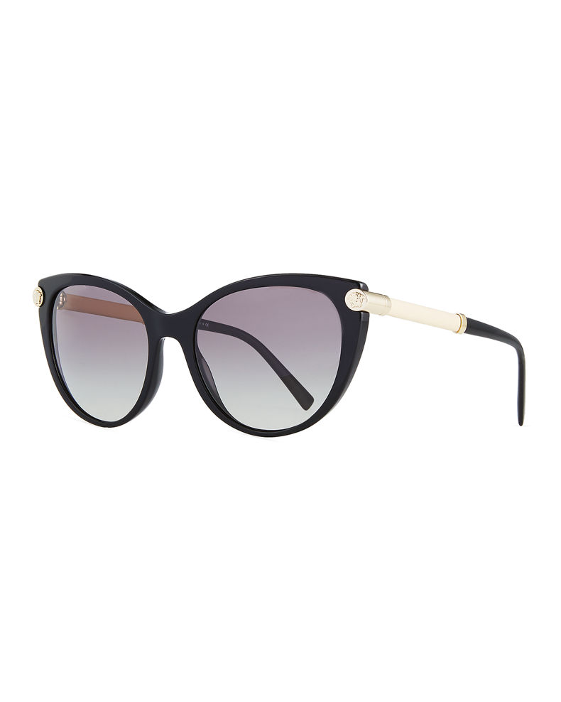 Versace Cat-Eye Medusa Head Sunglasses