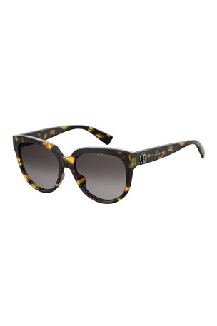 The Marc Jacobs Round Acetate Sunglasses