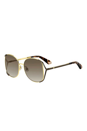 kate spade new york emyleegs metal square sunglasses