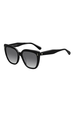 kate spade new york kiyannas square acetate sunglasses