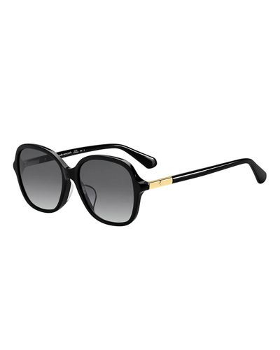 kate spade new york bryleef square acetate sunglasses