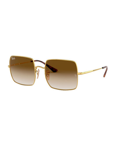 Metal Square Sunglasses