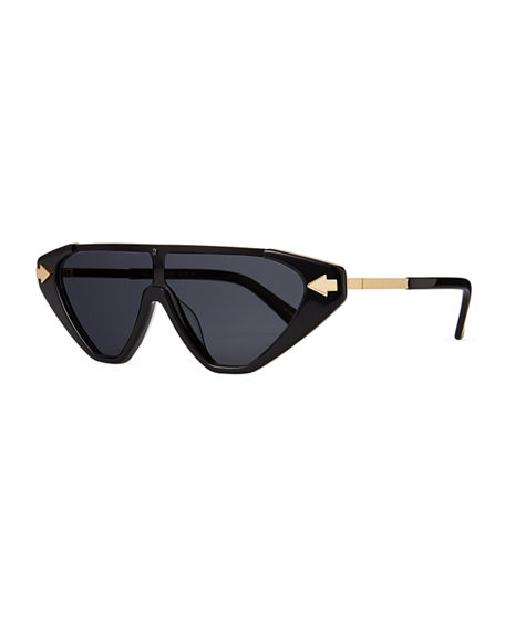 Karen Walker Hallelujah Shield Sunglasses
