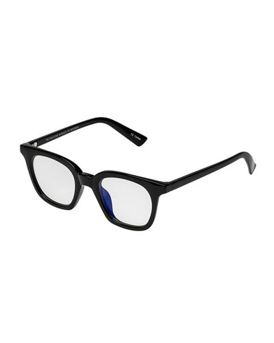 The Snatcher in Black Tie Cat-Eye Reading Glasses