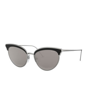 bd9b7edc040 Prada Sunglasses   Square   Cat-Eye Sunglasses at Neiman Marcus