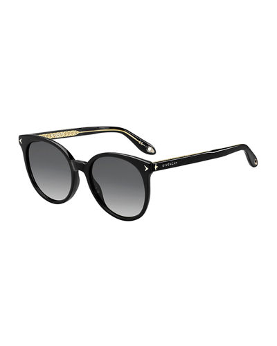 58bd54792c Quick Look. Givenchy · Round Gradient Acetate Sunglasses