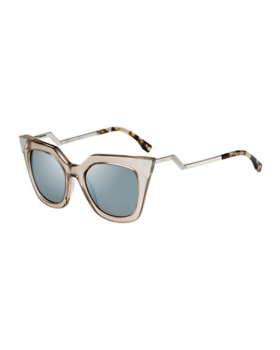 Iridia Flash Sunglasses with Mirror Lens