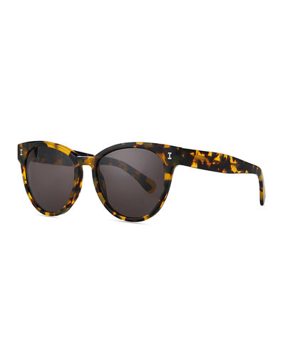 York Acetate Butterfly Sunglasses