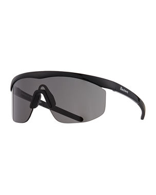 b9837d84638 Illesteva Managua Monochromatic Shield Sunglasses